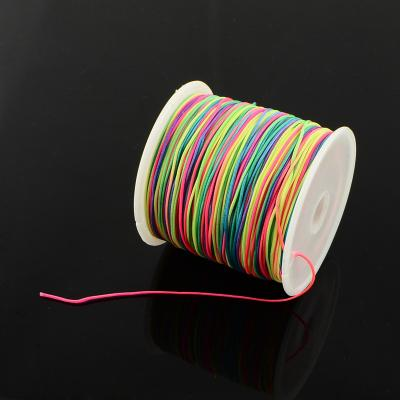 cordon nylon Ø 1 mm arc en ciel