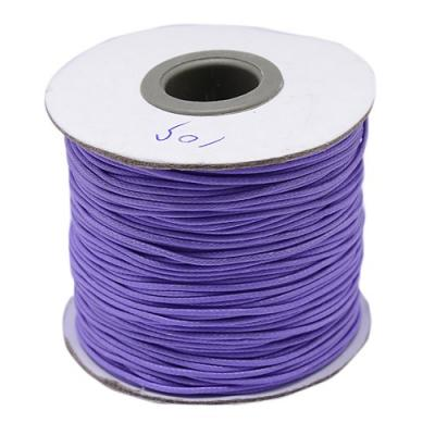 cordon coreen lilas Ø 1 mm