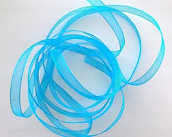 Organza 6 turquoise